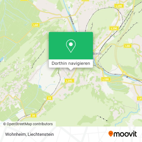 Wohnheim Karte