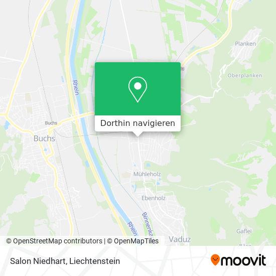 Salon Niedhart Karte