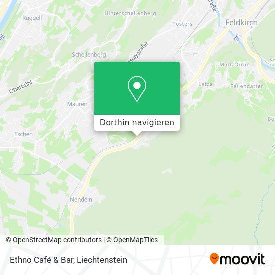 Ethno Café & Bar Karte