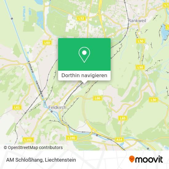 AM Schloßhang Karte