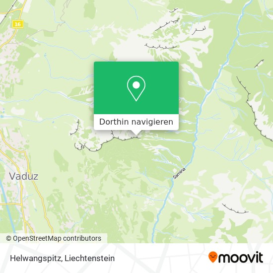 Helwangspitz Karte