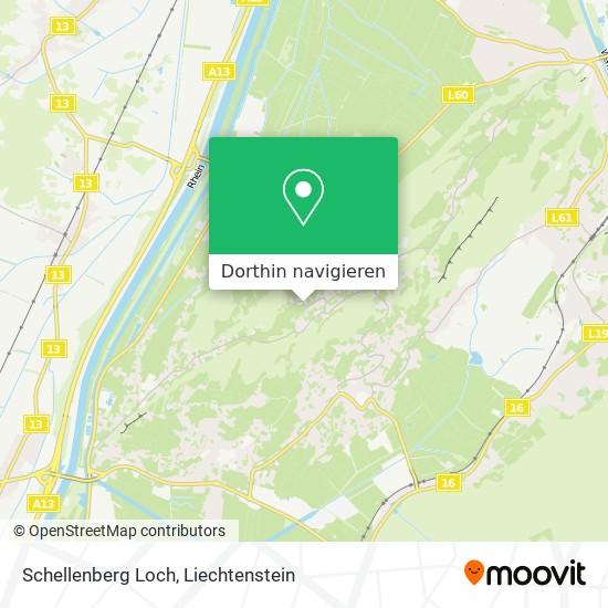 Schellenberg Loch Karte