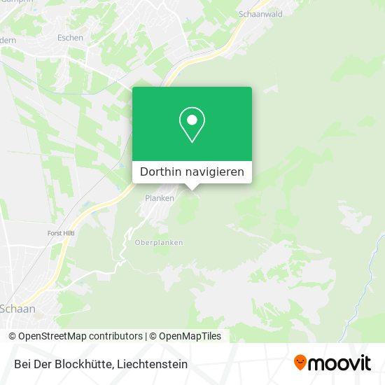 Bei Der Blockhütte Karte