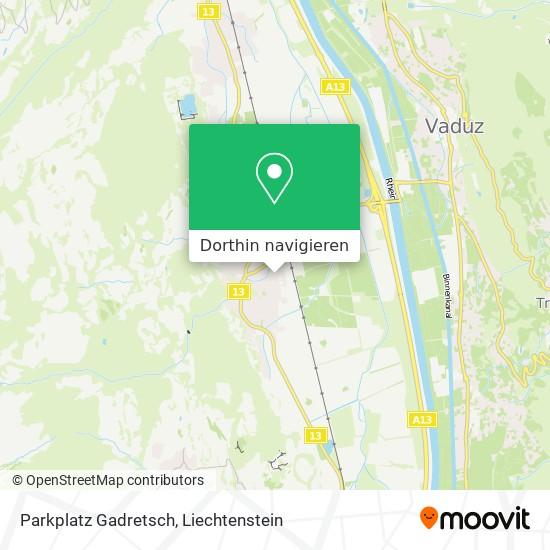 Parkplatz Gadretsch Karte