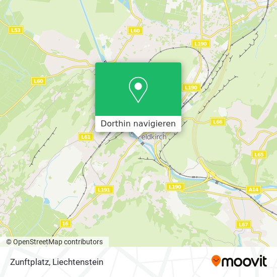 Zunftplatz Karte