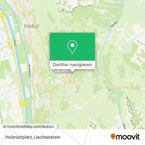 Holzrüstplatz Karte