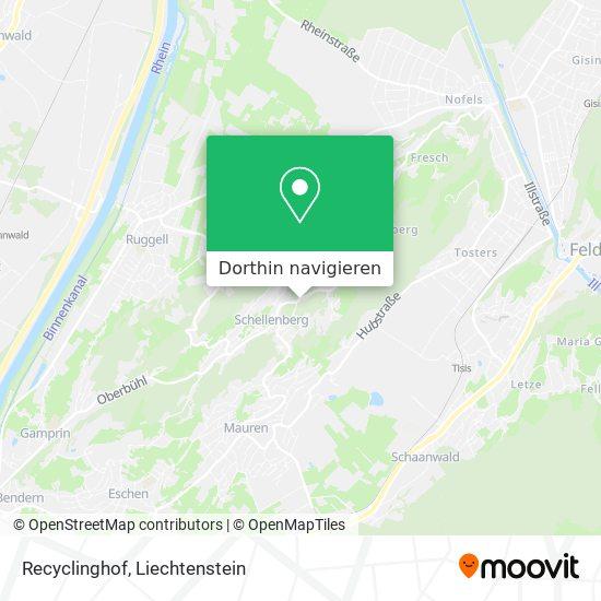 Recyclinghof Karte