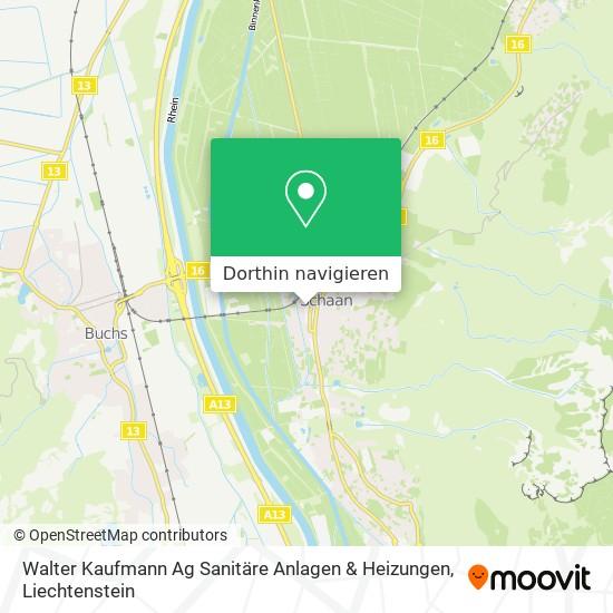 Walter Kaufmann Ag Sanitäre Anlagen & Heizungen Karte