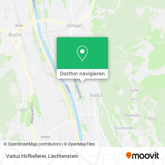 Vaduz Hofkellerei Karte
