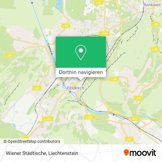 Wiener Städtische Karte