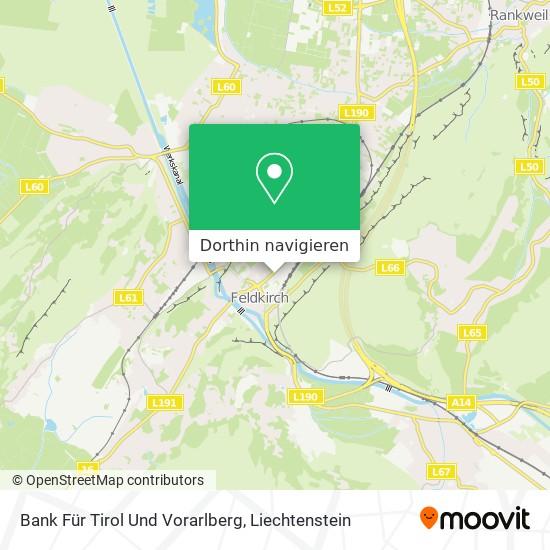 Bank Für Tirol Und Vorarlberg Karte
