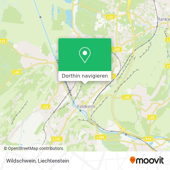 Wildschwein Karte