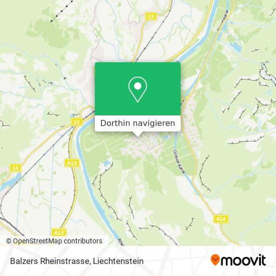 Rheinstrasse Karte