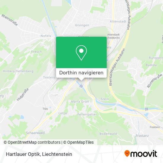 Hartlauer Optik Karte
