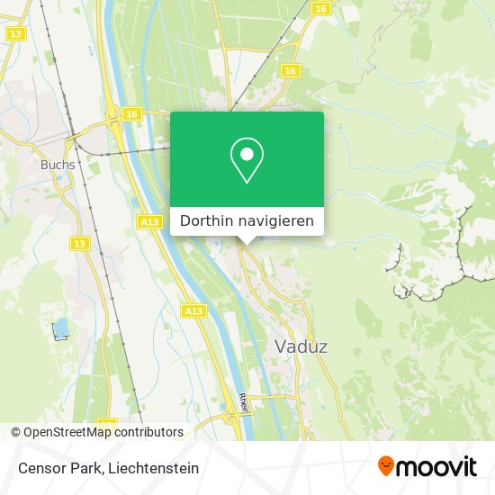 Censor Park Karte