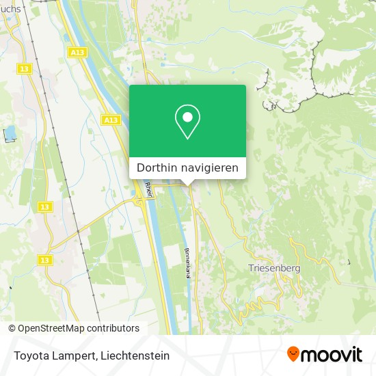 Toyota Lampert Karte