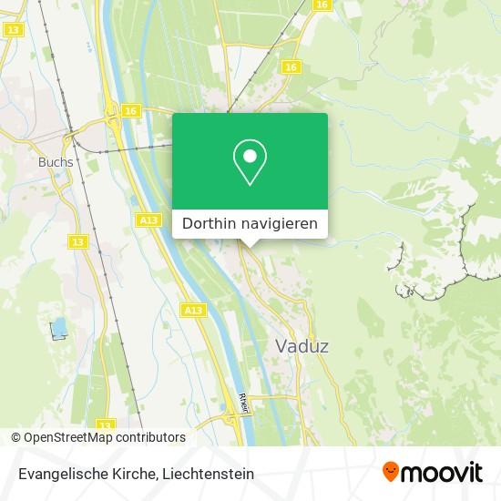 Evangelische Kirche Karte