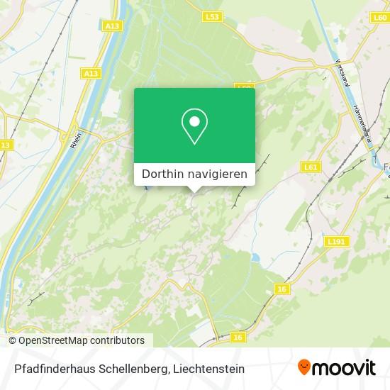 Pfadfinderhaus Schellenberg Karte