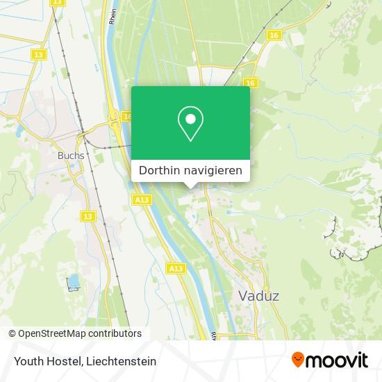 Youth Hostel Karte