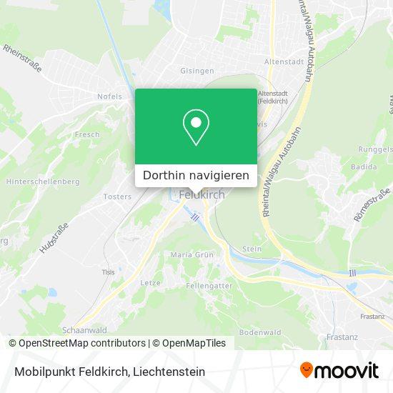 Mobilpunkt Feldkirch Karte