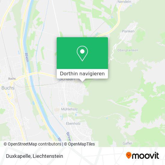 Duxkapelle Karte