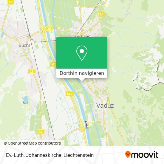 Ev.-Luth. Johanneskirche Karte