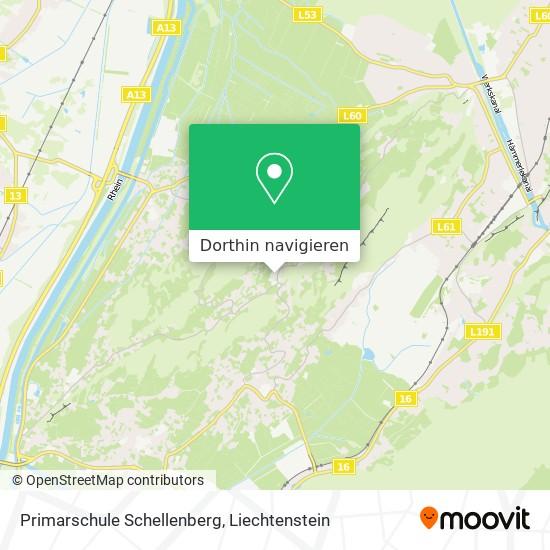 Primarschule Schellenberg Karte