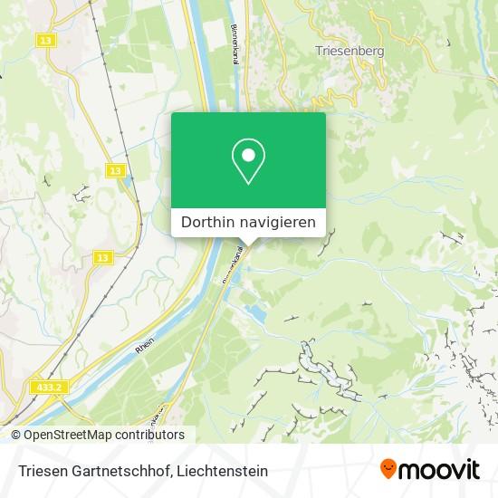 Triesen Gartnetschhof Karte