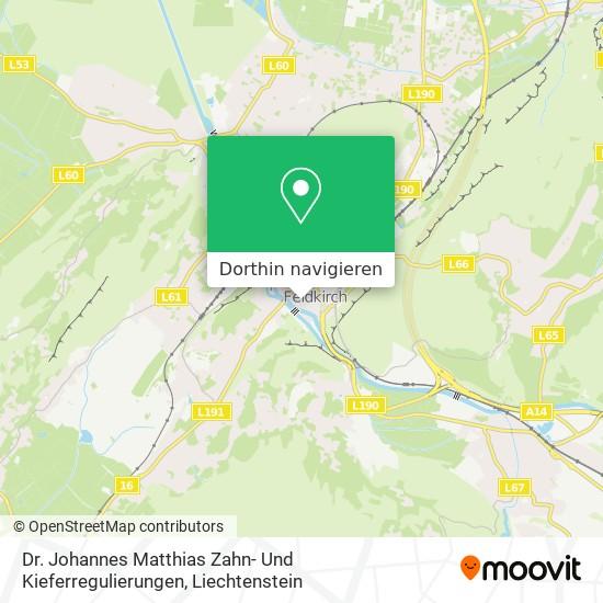 Dr. Johannes Matthias Zahn- Und Kieferregulierungen Karte