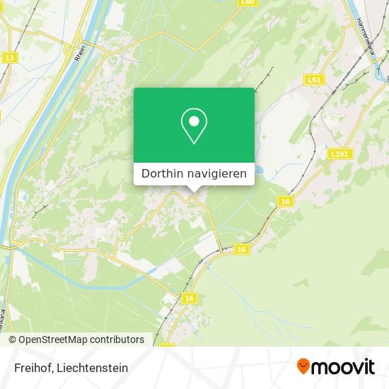 Freihof Karte