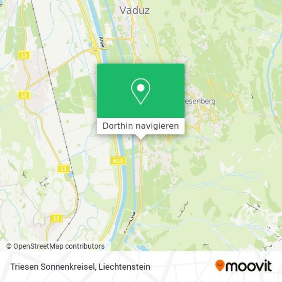 Triesen Sonnenkreisel Karte