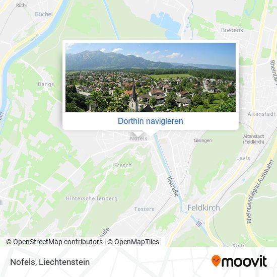 Nofels Karte
