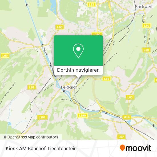 Kiosk AM Bahnhof Karte