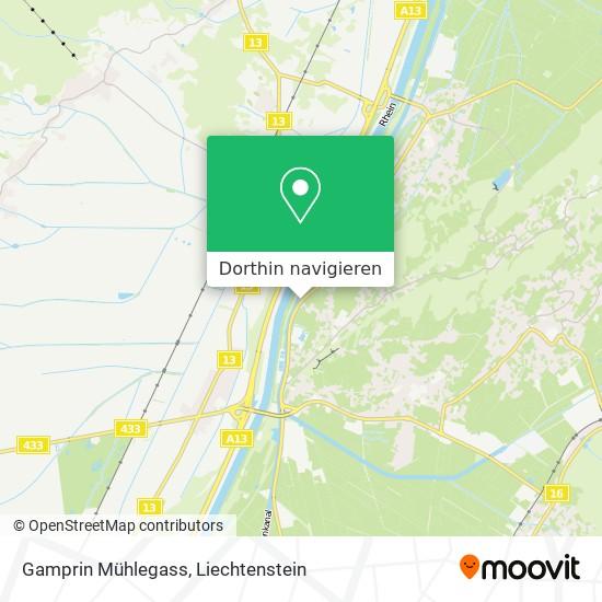 Gamprin Mühlegass Karte