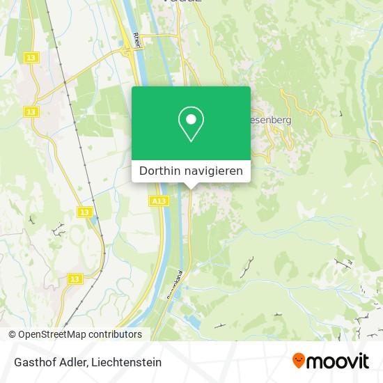 Gasthof Adler Karte