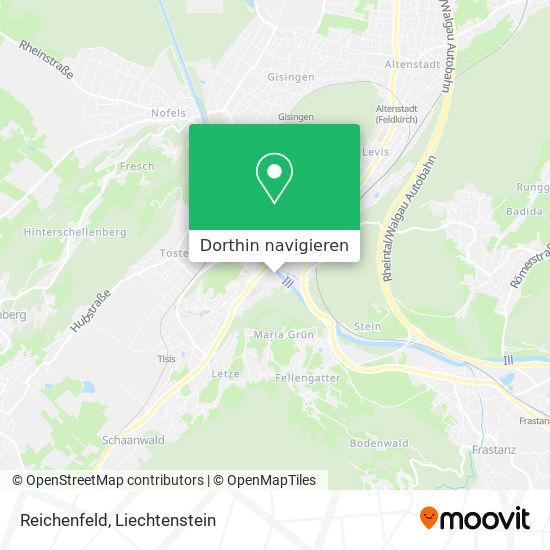 Reichenfeld Karte
