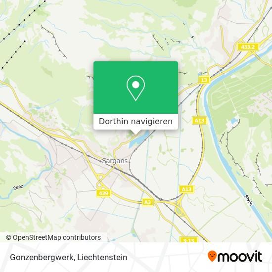 Gonzenbergwerk Karte