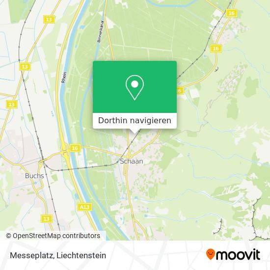 Messeplatz Karte