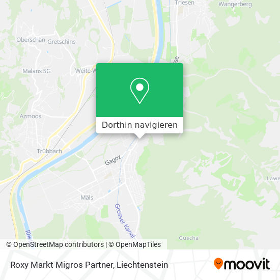 Roxy Markt Migros Partner Karte