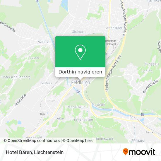 Hotel Bären Karte