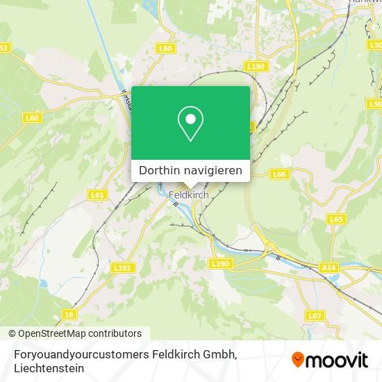 Foryouandyourcustomers Feldkirch Gmbh Karte
