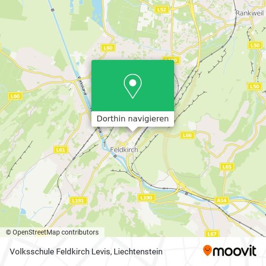 Volksschule Feldkirch Levis Karte