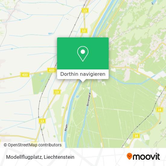 Modellflugplatz Karte