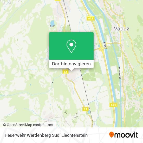 Feuerwehr Sevelen Zinslihof Karte
