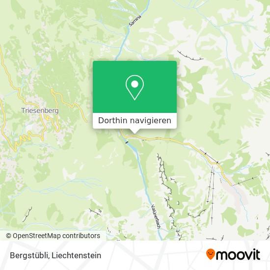 Bergstübli Karte