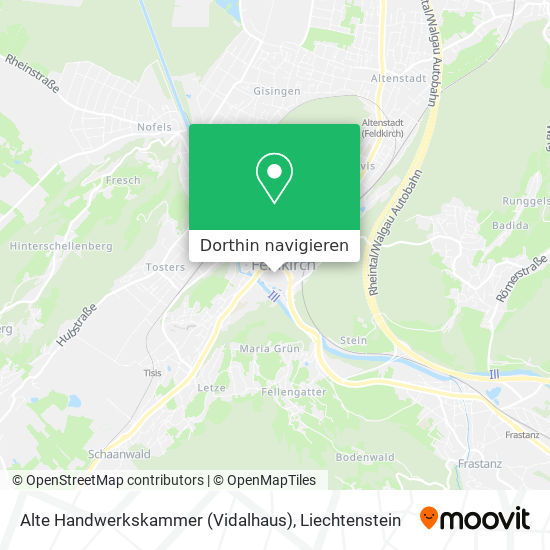 Alte Handwerkskammer (Vidalhaus) Karte