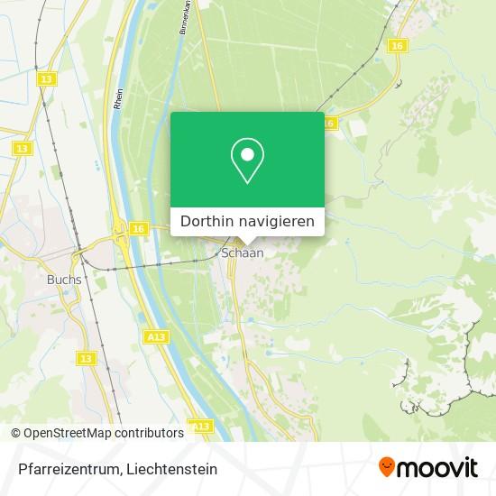 Pfarreizentrum Karte