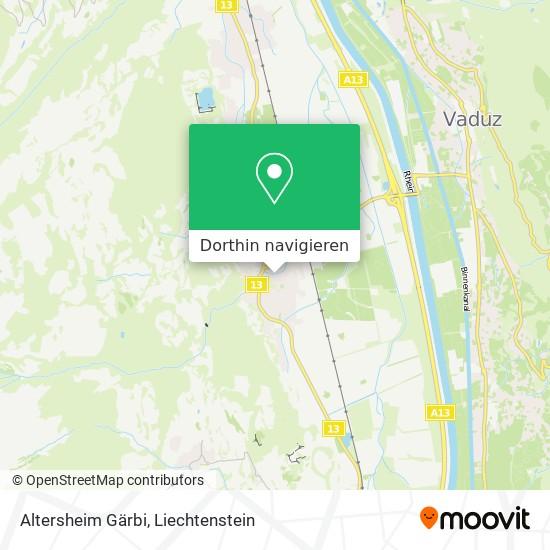 Altersheim Gärbi Karte