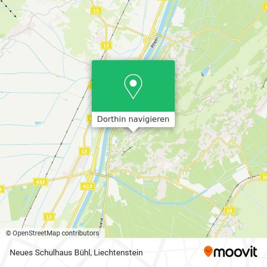 Neues Schulhaus Bühl Karte