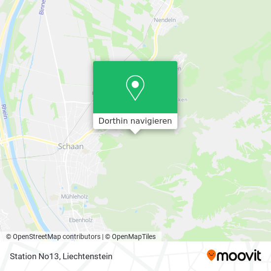 Station No13 Karte